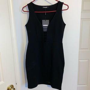 Missguided mini black dress